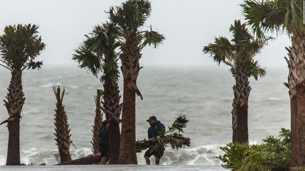 The tropical storm Cristobal is formed