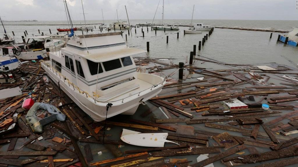 Texas, between Hurricane Hanna and covid-19