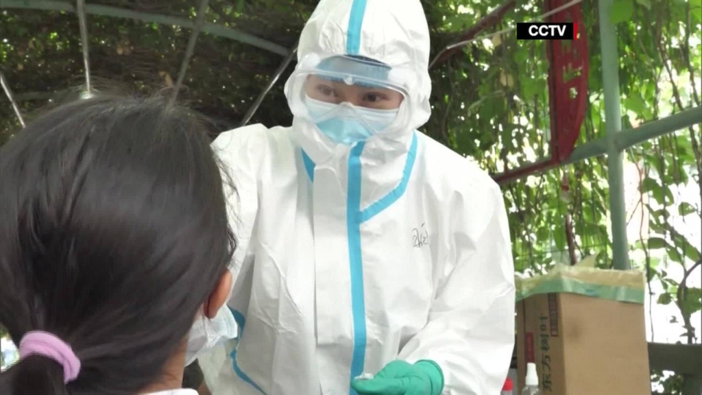 China reports new cases of covid-19