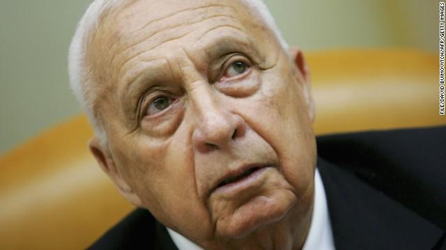 Ariel Sharon, ex primer ministro de Israel