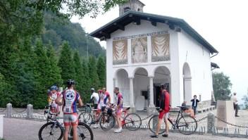 Santuario de la Madonna del Ghisallo (Crédito: Ander Izagirre)