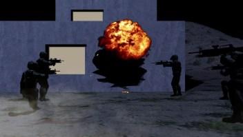 Animación del operativo en el que murió Abu Sayyaf.