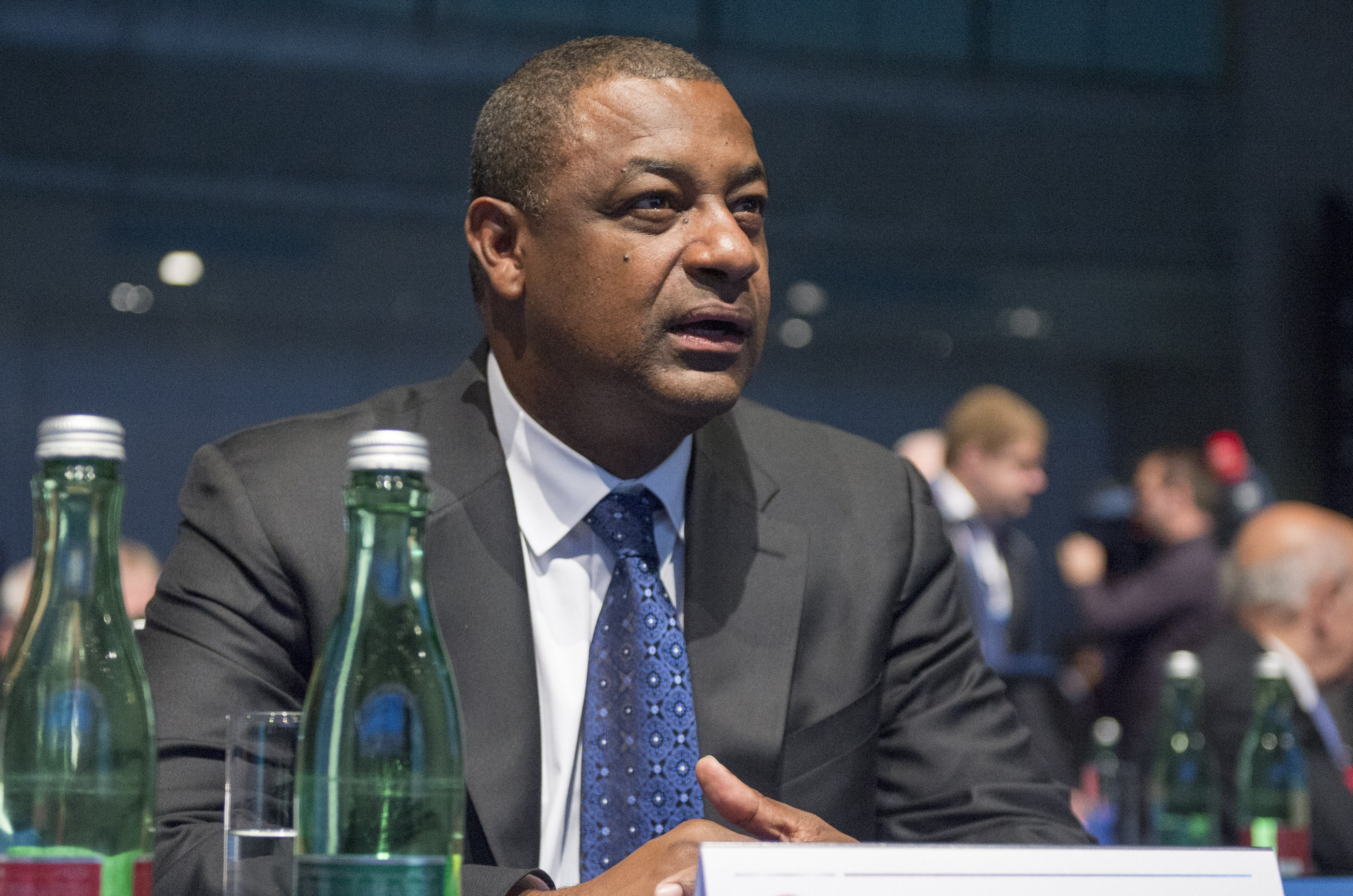 Jeffrey Webb, vicepresidente del comité ejecutivo y actual presidente de la Concacaf (Getty Images)