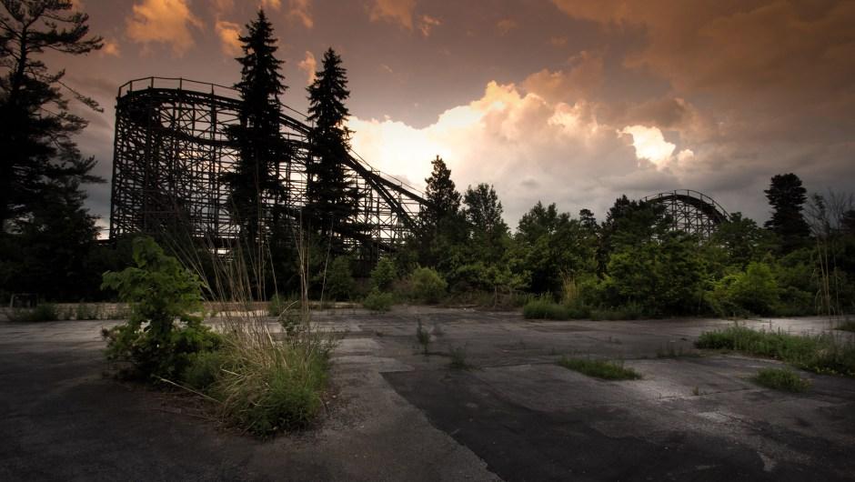 Escenas de parques de diversiones abandonados   CNN