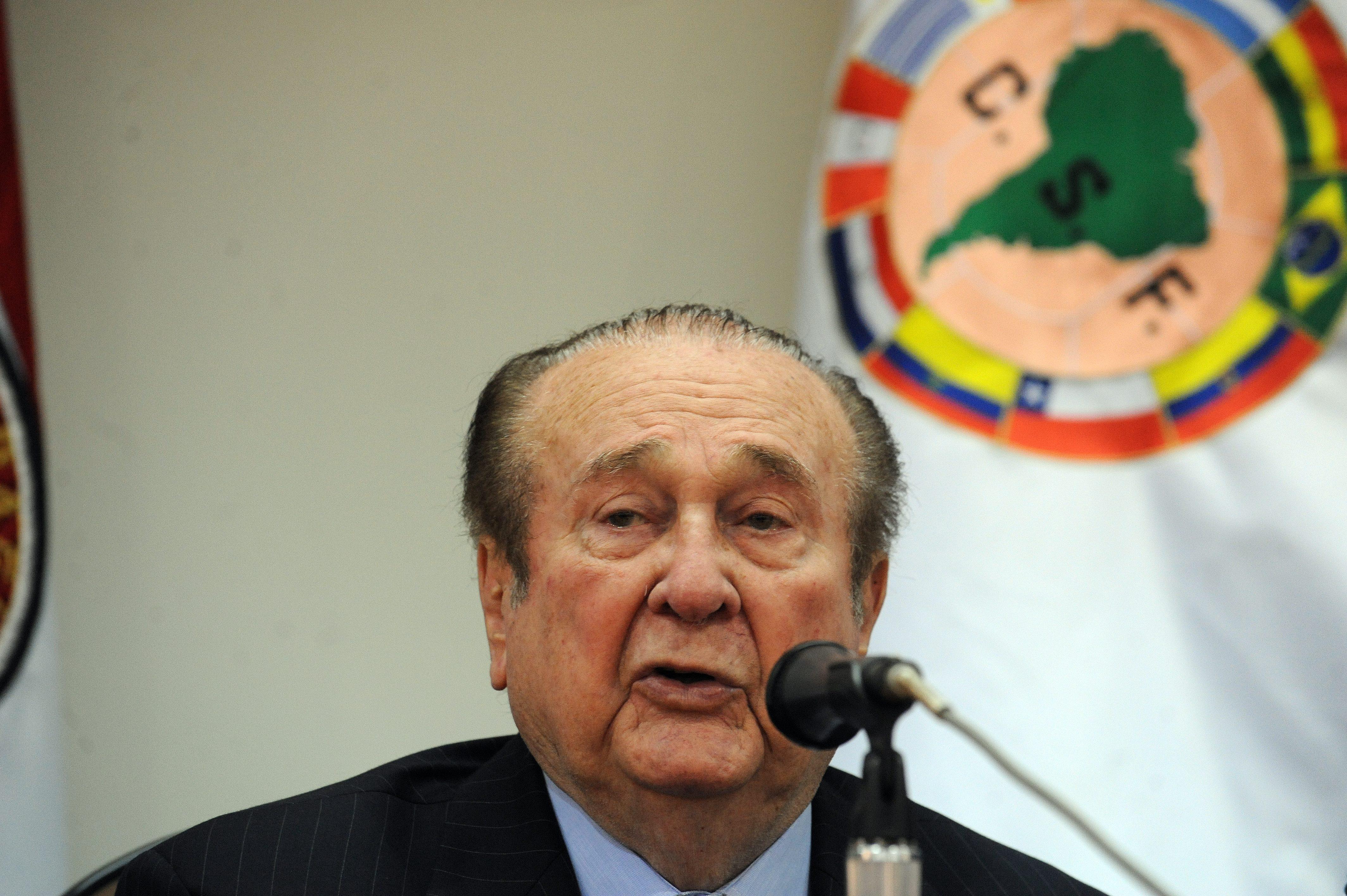 Nicolás Leoz, ex presidente de la Conmebol (NORBERTO DUARTE/AFP/Getty Images)