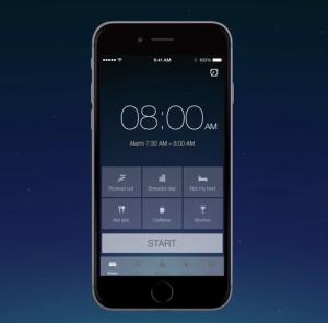 Esta aplicación te ayuda a mejorar tus hábitos a la hora de ir a dormir y tener un mejor despertar.