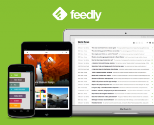 Feedly te permite organizar y acceder rápidamente a todas las noticias y actualizaciones de tus páginas favoritas.