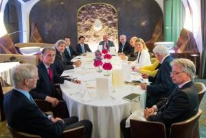 Irán y las potencias mundiales extenderán una semana más los diálogos en Viena para alcanzar un pacto que detenga la proliferación nuclear de Irán. (Crédito:CHRISTIAN BRUNA/AFP/Getty Images)