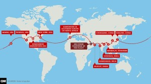 El Solar Impulse permanece en Nagoya, Japón debido al deterioro de las condiciones climáticas. El plan inicial era estar en Hawaii el 6 de junio, pero según su piloto, tal vez esa meta no se alcance este año.