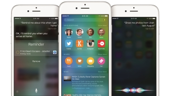 El nuevo iOS 9 de Apple.