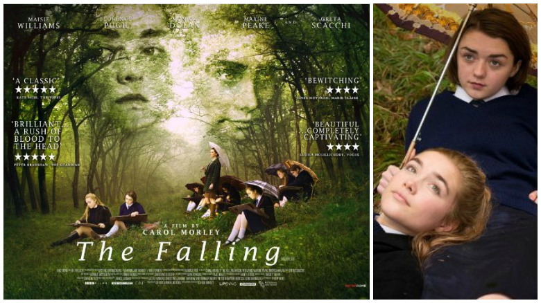 Maisie Williams como Lydia en la película 'The Falling'. Crédito: IMBD/BBC Films