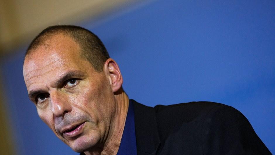 Yanis Varoufakis anunció su renuncia en un post en su blog (Carsten Koall/Getty Images).