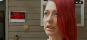 """""""Heather"""" se defendió de la agresión del Neil Falls y disparó a ciegas a su atacante."""