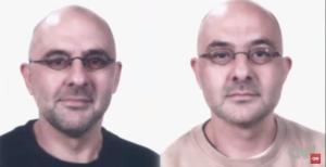 Marc and Eddy Verbessem solicitaron la eutanasia porque quedarían ciegos y no podrían verse nunca más. (Crédito: CNN)
