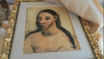El cuadro 'Head of a Young Woman' pertenece al período rosa de Picasso y está valorado en 25 millones de euros.