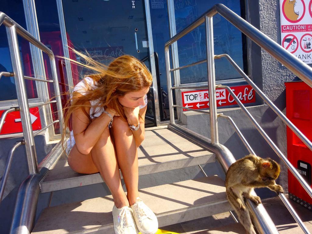 Según Elizabeth, los monos tienen fama de robarse pertenencias de los turistas. (Crédito: Elizabeth Pérez/CNN)