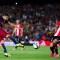 La magia del uruguayo Luis Suárez no fue suficiente para remontar ante el Athletic de Bilbao. Crédito: Alex Caparros/Getty Images.