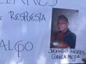 Jonathan Correa Mejía, de 20 años. (Crédito: CNN/Melissa Velásquez Loaiza)