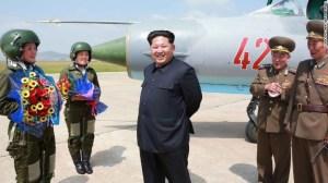 Kim Jong Un, líder norcoreano.
