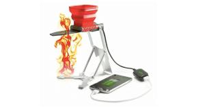 Flame Stower cargador llamas celular