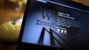 """Los investigadores encontraron que debido a la """"libertad de edición"""" en los artículos de Wikipedia, alguna información no sean exactos. (Crédito: Peter Macdiarmid/Getty Images)"""