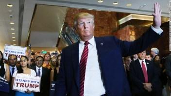 Donald Trump se quejó recientemente de una pregunta de un locutor de radio, quien le cuestionó sobre grupos que operan en Iraq y Siria.