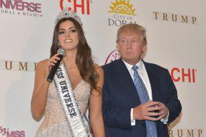 La Organización Miss Universo generó 3,4 millones de dólares en ingresos para Trump en el 2014.