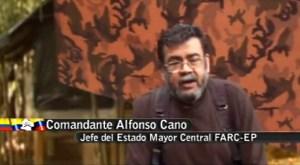 Alfonso Cano, excomandante en jefe y miembro del Secretariado de las FARC. (Crédito:AFP/Getty Images)