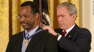 Carson fue homenajeado con la Medalla a la Libertad otorgada por el presidente George W. Bush en junio de 2008.