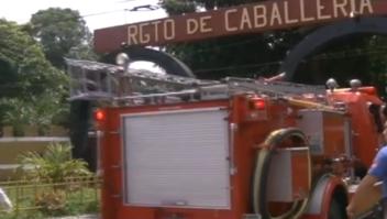 El Salvador Explotan bodegas explosivos Fuerza Armada