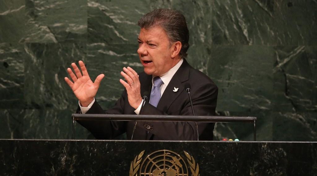 Juan Manuel Santos ONU