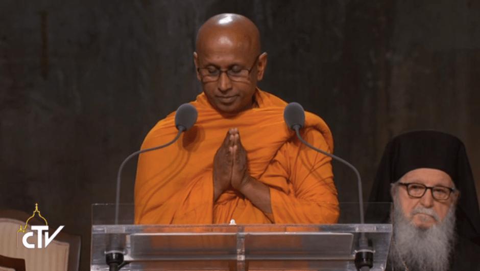 Oración interreligiosa Zona Cero papa Francisco Nueva York budista
