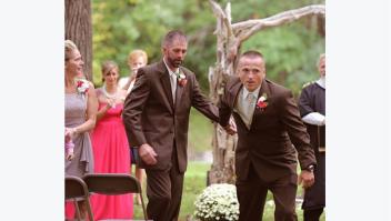 Delia D Blackburn wedding foto boda padre padrastro