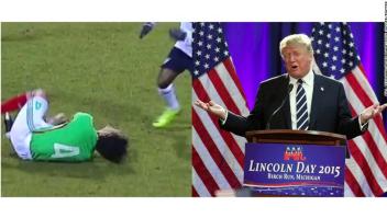 Trump Fox Sports ocmercial promocional partido México Estados Unidos