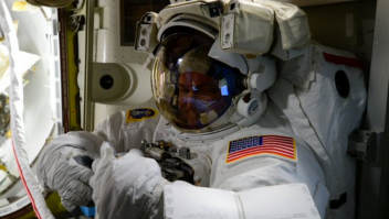 Scott Kelly caminata espacial astronauta