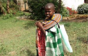 La Fundación Samburu para Niñas lucha contra la esclavitud de niñas en Kenia. (Crédito: FSN)