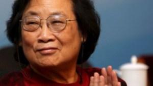 Farmacologista china Tu Youyou, ganadora del Nobel de Medicina 2015.