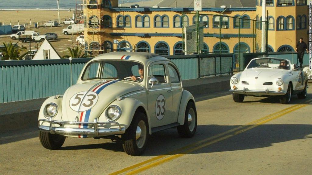 Este modelo de escarabajo Volkswagen 1963 fue visto por primera vez en la película 'The Love Bug' de 1968.