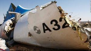 EE.UU. y Gran Bretaña habían lanzado tempranamente la hipótesis de que el avión ruso fue víctima de un ataque con una bomba que estalló dentro del avión.