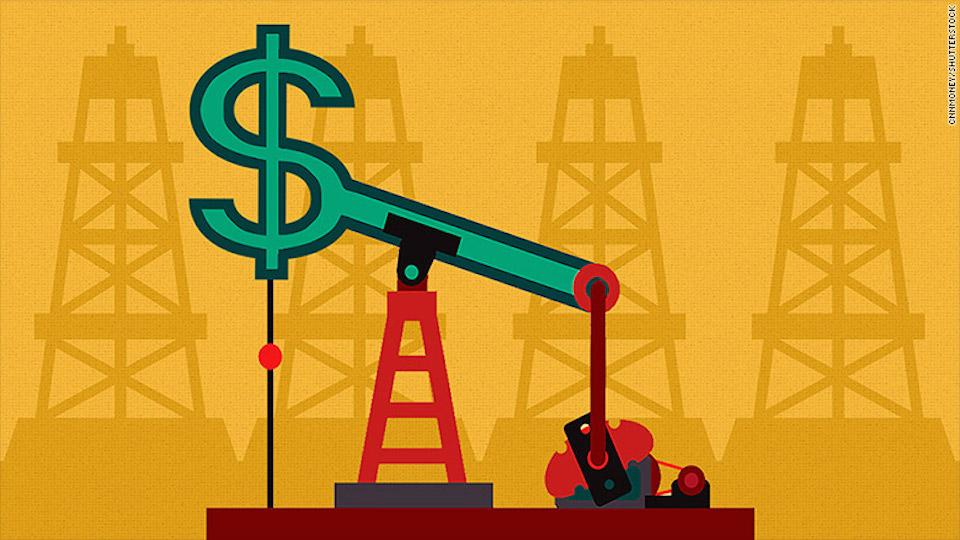 La caída del petróleo generará crisis de efectivo en los países de Medio Oriente.
