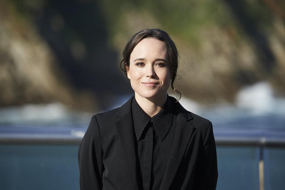 """La actriz Ellen Page reveló que es lesbiana en febrero de 2014 durante el discurso inaugural del evento """"Time to Thrive"""". """"Soy lesbiana. Estoy cansada de esconderme y de mentir por omisión"""", dijo la actriz. En septiembre de 2015, Page presentó oficialmente a su novia Samantha Thomas, una surfista de quien dice estar muy enamorada. (Crédito: Carlos Alvarez/Getty Images)"""