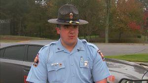 Oficial Nathan Bradley, de la policía de Georgia.