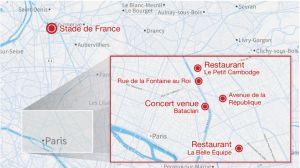 Mapa de París
