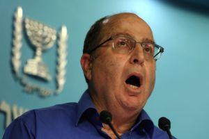 Moshe Yaalon, ministro de Defensa de Israel.  (Crédito:  GALI TIBBON/AFP/Getty Images)