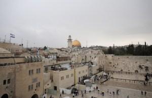 El Muro de los Lamentos, en Israel. (Crédito: AHMAD GHARABLI/AFP/Getty Images)