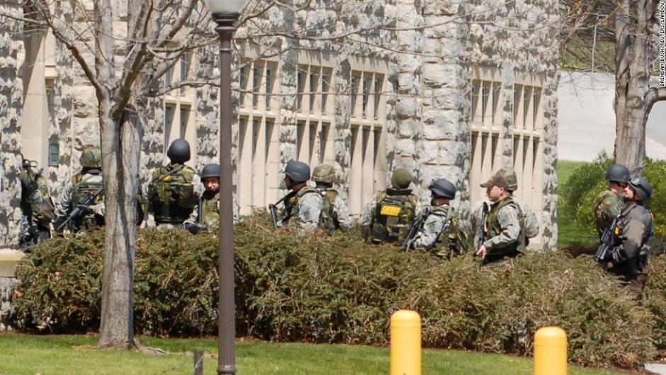 16 de abril de 2007 - Masacre en Virginia Tech: 32 personas murieron tras el ataque de un estudiante de 23 años que se suicidó después de abrir fuego en el campus de la universidad.