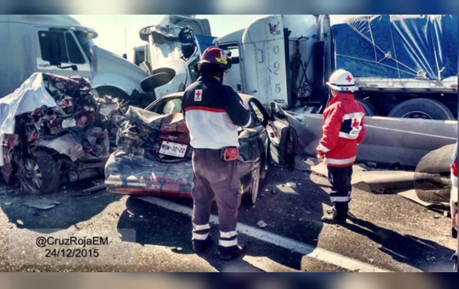 (Crédito: Cruz Roja Edomex)