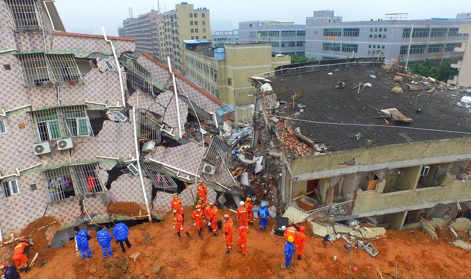 Shenzhen, ciudad fronteriza con Hong Kong, es una de las ciudades más grandes del sur de China y una importante ciudad industrial del país. (Crédito: STR/AFP/Getty Images)