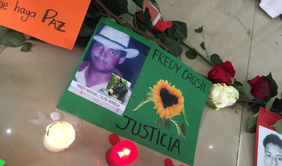 Fredy Causil, víctima del conflicto armado colombiano. (Crédito: Alto Comisionado para la paz de Colombia)