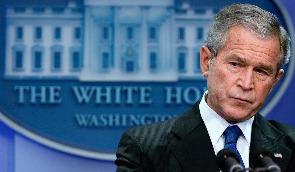 George W. Bush, presidente de Estados Unidos entre 2001 y 2009. (Crédito: Chip Somodevilla/Getty Images)